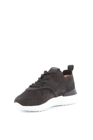 Sneakers traforate in nabuk nero XXW80A0W590SFVB999 TOD