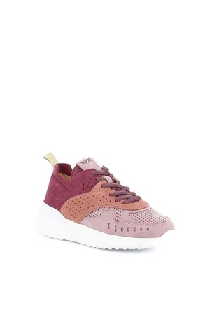 Perforated nubuck sneakers