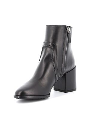 Leather heel ankle boot TOD