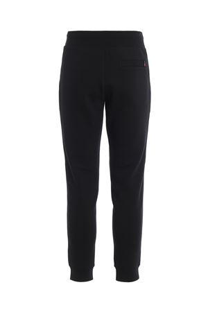 Joggers in tecno cotone stretch neri WOOLRICH | 20000005 | WOPAN1213UT1754100