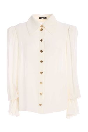 GOLDEN BUTTONS SHIRT IN WHITE