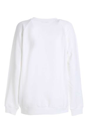 LOGO PATCH SWEATSHIRT IN WHITE BALMAIN | -108764232 | UF03691I4970FA