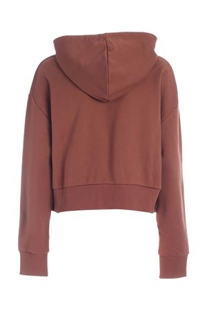 CROP HOODIE IN BROWN BALMAIN | -108764232 | UF03792I5988KB
