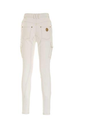 5-POCKET PANTS IN WHITE BALMAIN | 20000005 | UF05465D0700FA