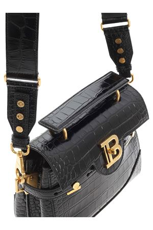 SHOULDER BAG IN BLACK BALMAIN | 70000001 | UN0S526LVCW0PA