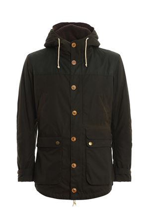 GAME PADDED PARKA IN GREEN BARBOUR | 18 | MWX0698OL71