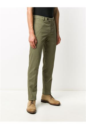 GREEN TROUSERS IN COTTON BRUNELLO CUCINELLI | 20000005 | M289LI1770C5009