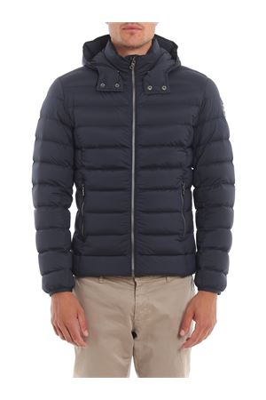 STRETCH NYLON QUILTED DOWN JACKET IN BLUE COLMAR | 783955909 | 1250R2SE68