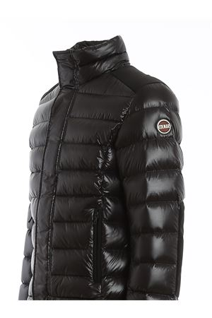 QUILTED NYLON PADDED JACKET IN BLACK