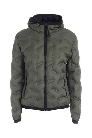 QUILTED HOODED DOWN JACKET IN GREEN COLMAR | 783955909 | 22093VB431