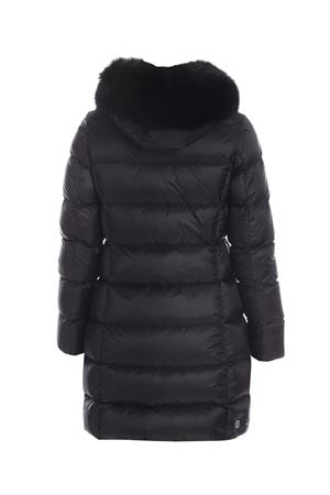 PLACE QUILTED DOWN JACKET IN BLACK