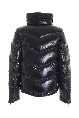 GLOSSY POINTED BOTTOM DOWN JACKET IN BLACK COLMAR | 783955909 | 22305TW99