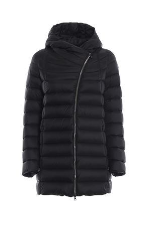 PLACE BLACK PUFFER HOODED SHORT COAT IN BLACK COLMAR | 783955909 | 22337QD99