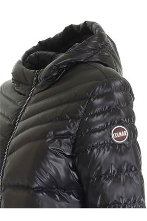 MEMORIES DOWN JACKET IN METALIC BLACK