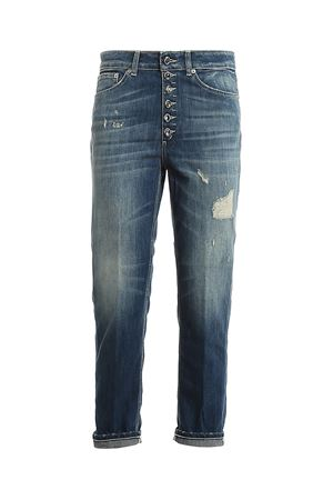 KOONS GIOIELLO JEANS IN BLUE DONDUP | 24 | DP268BDS0107DAM7DD800