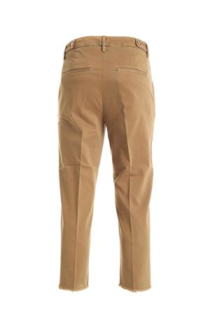 ARIEL PANTS IN BROWN DONDUP | 20000005 | DP475GSE043DPTDDD008