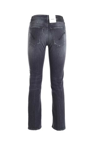 JEANS ALLIE GRIGI EFFETTO DESTROYED DP527DSE287DAO7DD999 DONDUP | 24 | DP527DSE287DAO7DD999
