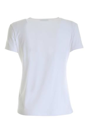LOGO PATCH T-SHIRT IN WHITE DONDUP | 8 | S007JS0241DZH3DD000