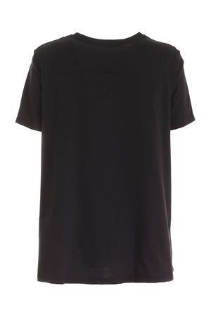 LOGO EMBROIDERY T-SHIRT IN BLACK DONDUP | 8 | S858JF0274DXXXDD999