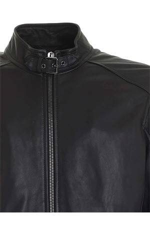 BIKER JACKET IN BLACK DONDUP | 3 | UJ741PL0238UXXXDU999