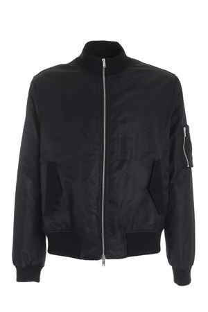 BLACK BOMBER JACKET FEATURING SLEEVE POCKET DONDUP | 1236091882 | UJ750PX0086UXXXDU999