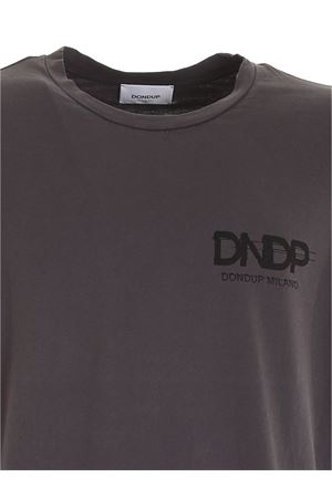 LOGO PRINT T-SHIRT IN GREY