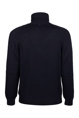 WOOL TURTLENECK SWEATER IN BLUE DONDUP | 10000016 | UT017M00720U002DU800