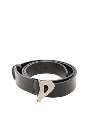 LOGO BUCKLE BELT IN BLACK DONDUP | 22 | WC221PL0250DXXXDD999