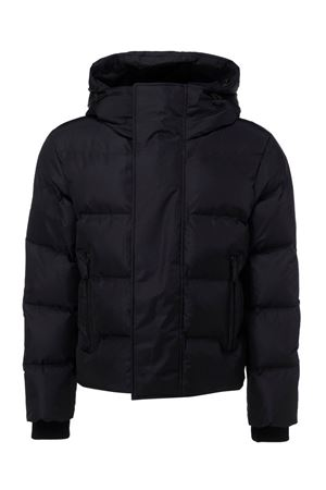 QUILTED PADDED JACKET IN BLACK DSQUARED2 | 783955909 | S71AN0218S53352900