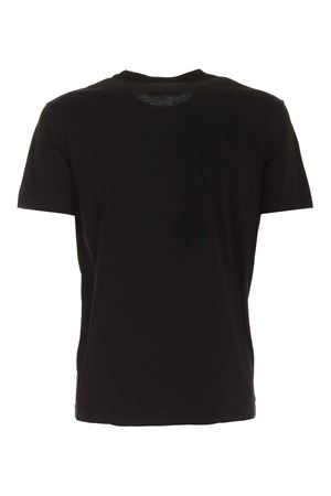 CONTRASTING PRINT T-SHIRT IN BLACK DSQUARED2 | 8 | S71GD0945S22427900