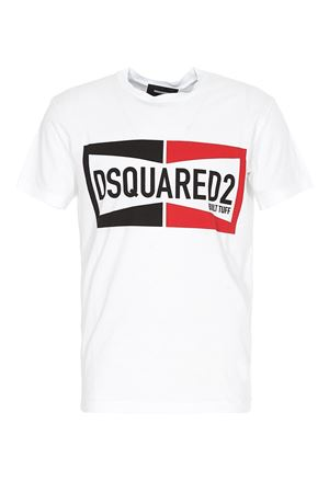 LOGO T-SHIRT IN WHITE