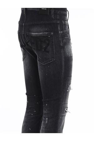 SKATER JEANS IN BLACK WITH LOGO DSQUARED2 | 24 | S71LB0841S30503900