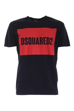 T-SHIRT DSQUARED2 BLU S74GD0720S22427478 DSQUARED2 | 8 | S74GD0720S22427478