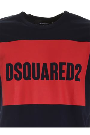 DSQUARED2 T-SHIRT IN BLUE DSQUARED2 | 8 | S74GD0720S22427478