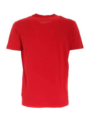 T-SHIRT ROSSA CON STAMPA A CONTRASTO S74GD0725S22427307 DSQUARED2 | 8 | S74GD0725S22427307