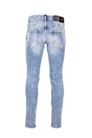 SKATER JEANS DELAVÈ COLORE LIGHT BABY BLUE S74LB0746S30663470 DSQUARED2 | 24 | S74LB0746S30663470