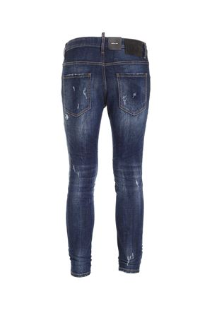 JEANS EFFETTO DESTROYED BLU S79LA0009S30342470 DSQUARED2 | 24 | S79LA0009S30342470