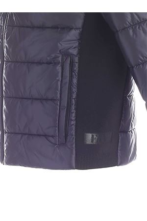 STRETCH KNITTED EDGES DOWN JACKET IN BLUE FAY | 783955909 | NAM22410290MAGU809