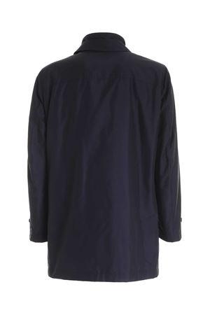 CLASSIC COLLAR COAT IN BLUE FAY | 18 | NAM61410160AXXU804
