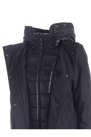 FAY HOOK DOWN JACKET IN BLACK FAY | 10000013 | NAW13413930QKJB999