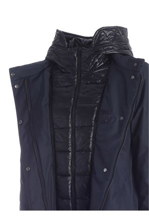 FAY HOOK DOWN JACKET IN BLACK FAY | 10000013 | NAW13413930QKJU808