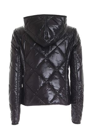 QUILTED BLACK DOWN JACKET WITH HOOD FAY | 783955909 | NAW22413870TCD694A
