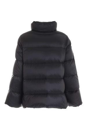 FAUX FUR DETAILS DOWN JACKET IN BLACK FAY | 783955909 | NAW32414040SJFB999
