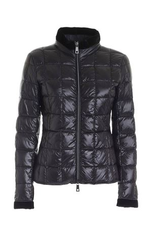 LOGO PATCH DOWN JACKET IN BLACK FAY | 783955909 | NAW3241420RICIB999