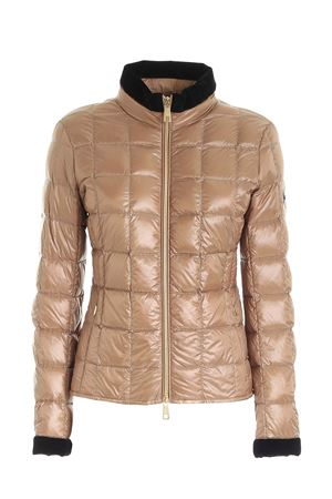 LOGO PATCH DOWN JACKET IN CAMEL COLOR FAY | 783955909 | NAW3241420RICIC811
