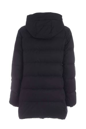 HOODED DOWN JACKET IN BLACK FAY | 783955909 | NAW33413960SGWB999