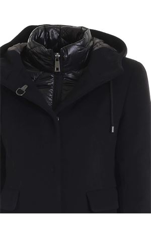 BLACK COAT FEATURING DOWN JACKET FAY | 17 | NAW53413760SHNB999