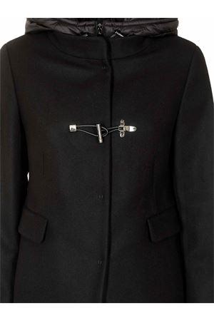 TOGGLE COAT IN BLACK WITH HOOD FAY | 17 | NAW59413430SGLB999