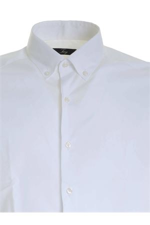 BUTTON-DOWN SHIRT IN WHITE FAY | 6 | NCMA141258SORMB001