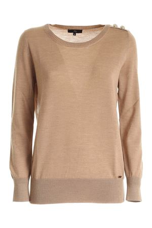 LIGHT YARN PULLOVER IN BEIGE FAY | -1384759495 | NMWC1416330RDOC809